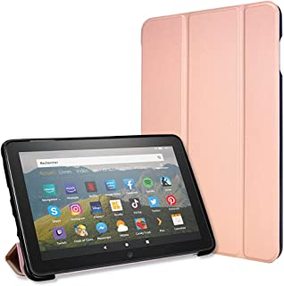 TECHGEAR Smart Case voor alle nieuwe Amazon Fire HD 8 / HD8 Plus (2020/10e generatie) Slim Smart Case Tri-fold Stand Cover...