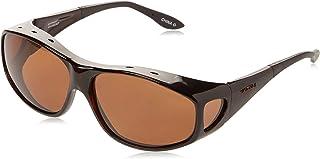 Haven Fits Over Sunwear Everest Over-Prescription Sunglasses,Tortoise Frame/Amber Lens,one size
