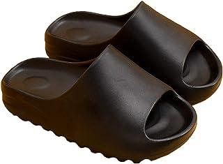 Sandales Femmes Mode Chaussons Plate-Forme Curseurs Glisser sur Mules Eté Claquettes Plates à Pantoufles