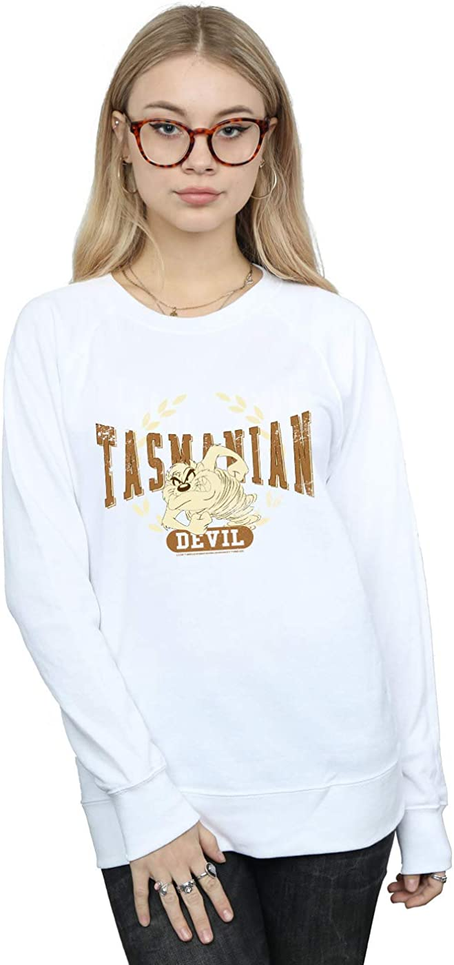 Looney Tunes outlet Women's Tasmanian Sweatshirt We OFFer at cheap prices Devil Varsity