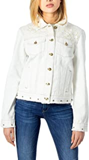 Desigual Luxury Fashion Womens 20SWED04WHITE White Jacket | Fall Winter 19