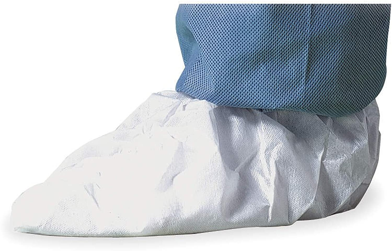 DuPont Tyvek IsoClean IC451S shoes Cover, Medium, White. (Pack of 100)