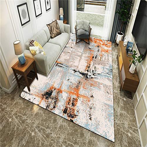 Shooyoo Designer Teppich Moderne 3D Kreative Xmhome Wohnzimmer Schlafzimmer Übergroße rutschfeste Waschbar Boden Yoga Matte Wohnkultur P2450-120X160cm