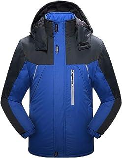 RkBaoye Men's Soft Shell Windbreaker All Seams Taped Anorak Jacket