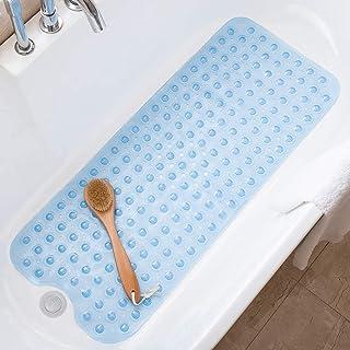 Wimaha Alfombrillas de baño Extra largas - Resistentes al Moho, Antideslizantes, con Ventosa. para Uso en el baño,Lavables...