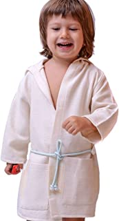 c1f8e56953 Azure Classic Peshtemal Bathrobe and Beach Robe for Kids Turkish Bathrobe  by Azure Collection (Blue