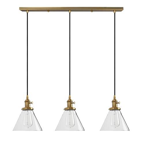 cheaper f46c0 85c8c 3 Lamp Pendant Lights: Amazon.co.uk