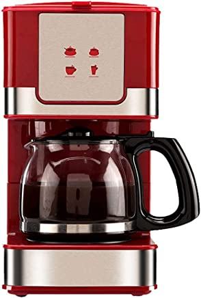 NJYDQ Coffee Maker Drip Coffee Machine Silent Operation Anti-drip Coffeemaker with Coffee Pot and Removable Filter for Office Home