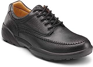 DR. COMFORT Men's Stallion Black Diabetic Casual Shoes
