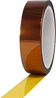 108foot x30mm x0.05mm High Temperature Resistant Kapton Adhesive Tape, 7500V Dielectric Strength,Anti-Static/Heat Resistant Polyimide Film Pad Tapes for Thermal Transfer, Soldering,Masking,Insulation