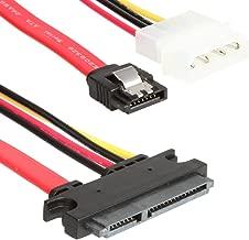 WonderfulDirect SATA 22pin Serial ATA Data and Power Combo Cable (SATA22Pin to Data+Power)