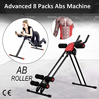 Coroid 6 Pack Abs Exerciser Machine with 20 Different Modes for Exercise and Fitness without Cycle/six pack abs exerciser/excersice equipment for home/wrist excercise equipment/abdominal exercise equipment/Push Up bar/pullup bar for home/chest expander for men/forearm strengthener/forearm exercise equipment/excersice cycle for home/weight loss machine/weight loss belt/abs exercise equipment for home(Exercise Equipment for Home)(6 Pack Machine Body)