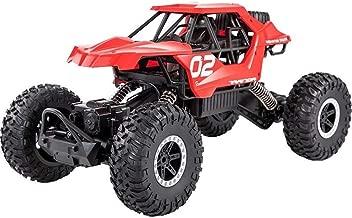 SSBH Vehículo de control remoto Rock Monster Truck Crawler Buggy All Terrain Speed Racing Coche eléctrico for niño Kid 1:18 Escala Vehículo todoterreno 4WD Monster RC Cars Montañismo Racing Toy Off-