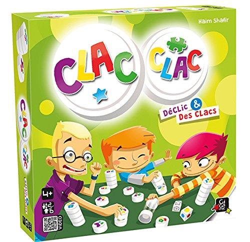 GIGAMIC - AMCLA - Jeu de réflexe - Clac Clac