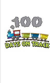 100 Days On Track: 100 Days Of School Poem 2020 Planner - Weekly & Monthly Pocket Calendar - 6x9 Softcover Organizer - For...
