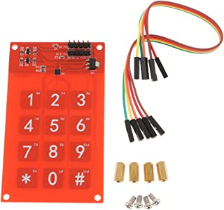3x4 Keyboard MPR121 Capacitive Touch Switch Digital Touch Sensor Module, Touch-Capacitance