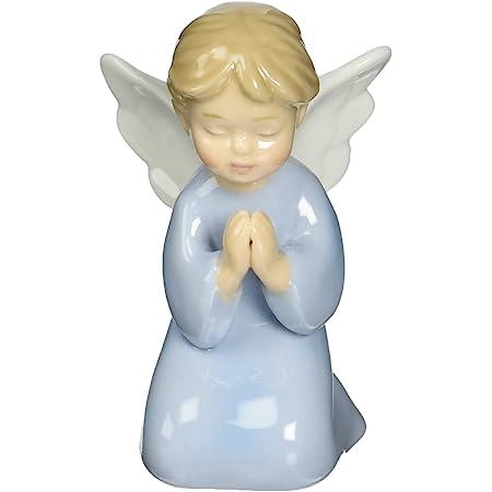 Cosmos 10321 Fine Porcelain Praying Boy Angel Figurine, 3-3/8-Inch