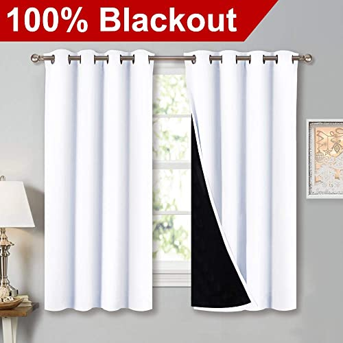 White Blackout Curtains: Amazon.com