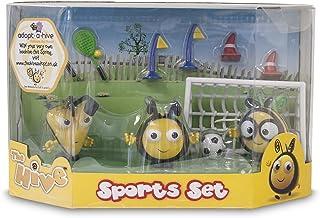 The Hive - Set de Figuras y Accesorios de fútbol, diseño de Abejas