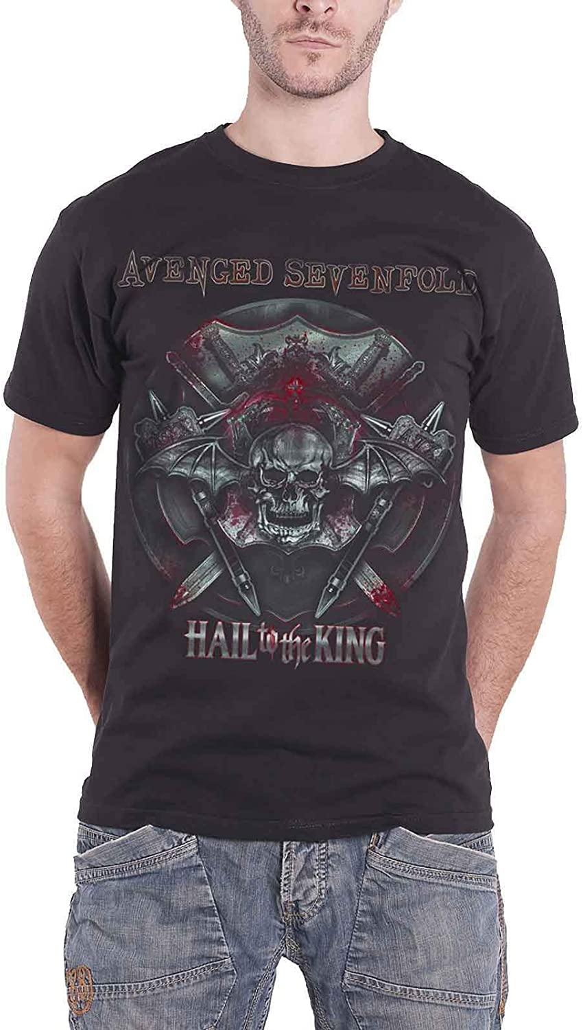 Avenged Sevenfold T Shirt Hail to the King Battle Armour ...
