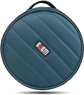 Nai-storage Caja de Almacenamiento Redonda de CD/DVD con Cerradura Bolsa de Almacenamiento Decorativa para automóvil Puede...