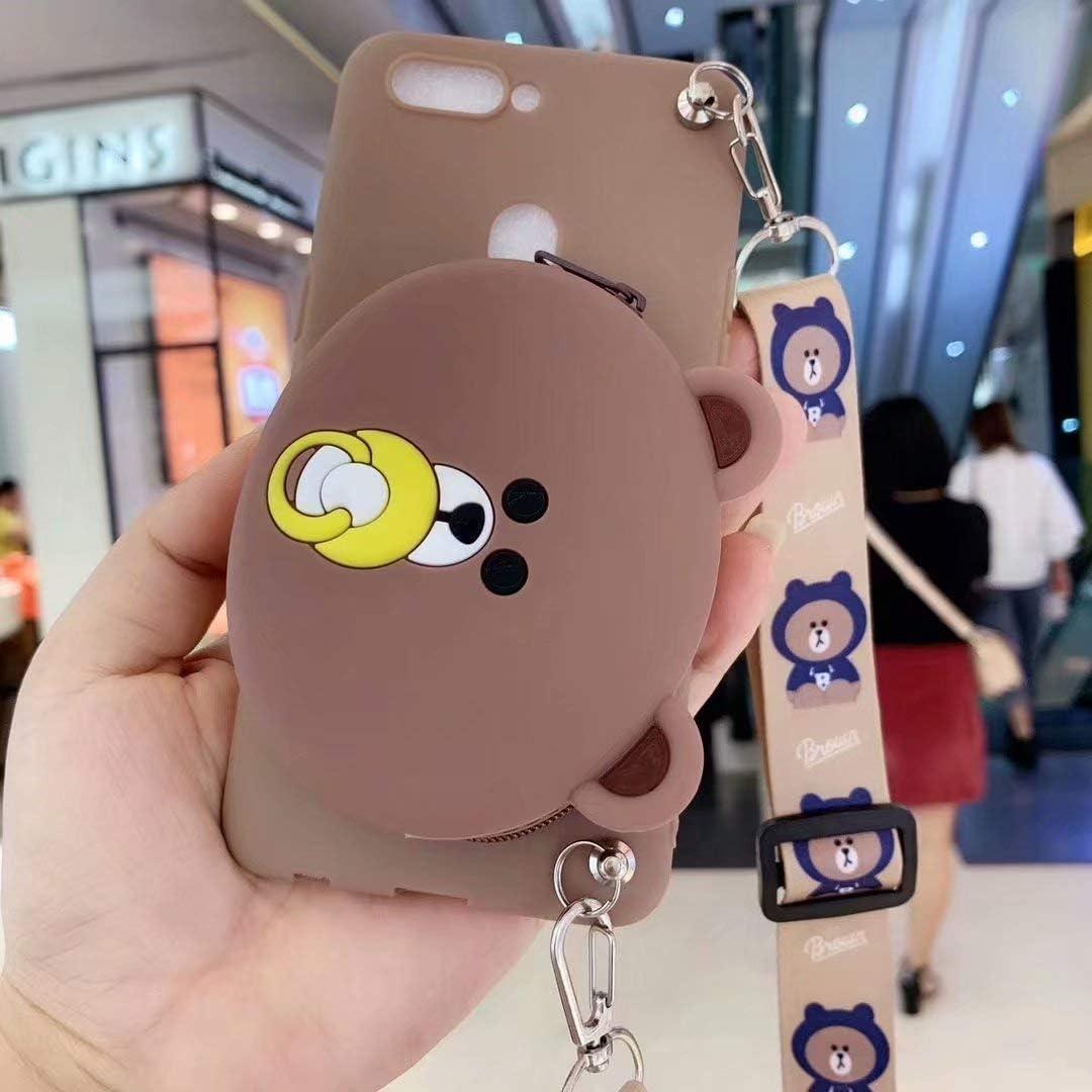 Maoerdo Galaxy Note 10 Plus Case,[Send Pen] 3D Cute Animal Earphone Pocket Purse Lanyard [Drop Proof] Cartoon Gel Rubber Back Cover Case for Samsung Galaxy Note 10+ /10 Plus /5G 6.8