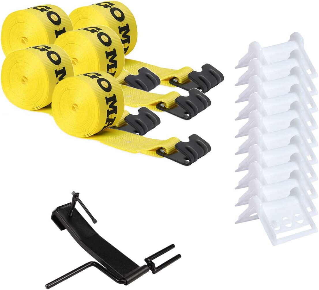 DC Cargo Mall Flatbed Tie-Down Kit Max 50% OFF 16 Inch - 4 Pieces: Ranking TOP6 W