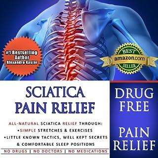 Sciatica Pain Relief audiobook cover art