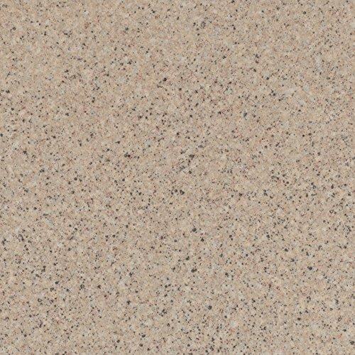 Vinylboden PVC Bodenbelag | Steinoptik Granit creme beige | 200, 300 und 400 cm Breite | Meterware | Variante: 2,5 x 3m