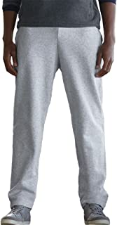 Fruit of the Loom Mens Open Hem Jog Pants/Jogging Bottoms