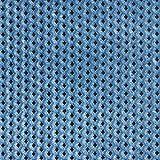 Fabulous Fabrics Pannesamt Ausbrenner Rauten – taubenblau