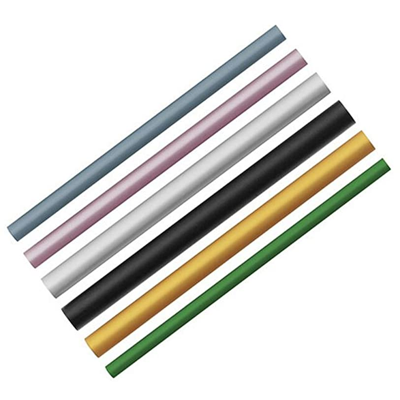 オフ小競り合い遠いEcloud Shop 6本のネイルシェイプスティックポーランドシェイピングチューブプレッシャーバーフランススタイルのマニキュアツール6色6つのサイズ