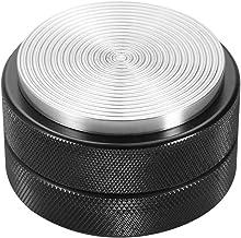 Stuifmeel pers, 51mm roestvrij staal koffie stamper basis koffieboon pers gereedschap zwart (zwarte draad bodem)