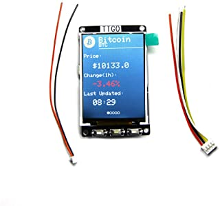ILS - BTC Ticker ESP32 Module for Arduino Source Bitcoin Price Ticker Program 4 MB SPI Flash 4 MB Psram LCD Display