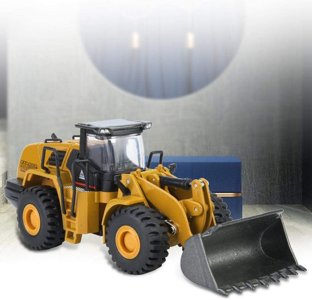 Nannday Remote Control Truck 1:60 New popularity Loader Engineerin Alloy NEW before selling Wheel