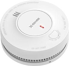 X-Sense Alarma de Humo, batería de 10 años, Precisión de detección 5 Veces Mejor con Menos Falsas alarmas, Detector de Incendios con certificación TÜV y EN 14604