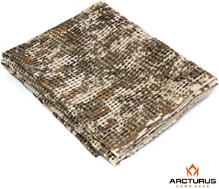 Arcturus Sniper Veil | Tactical Scarf to Camouflage Your Neck, Face & Head | 100% Cotton - 48