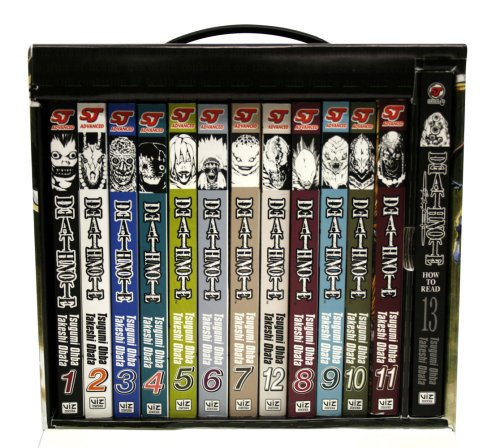 『Death Note Complete Box Set: Volumes 1-13 with Premium』の3枚目の画像