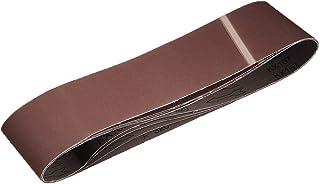 """4""""x 36"""" 320 Grit Sanding Belt Aluminiumoxid Sandpapper Bälten för Bärbar Strip Slipmaskin Efterbehandling Metal Gips Poler..."""