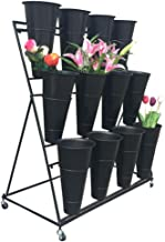 bucket flower stand