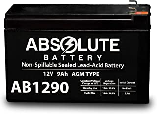 AB1290 12V 9AH SLA Battery Replacement Yamaha 150TXR Outboard