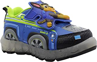 Paw Patrol Toddler Boys' Light-Up Athletic Shoe (8)