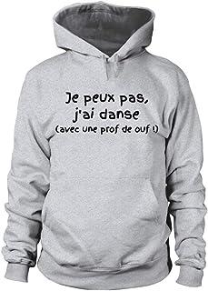 TEEZILY Sweat /à Capuche JPeux Pas JAi Piscine