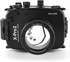 Meikon 40m Underwater Waterproof Housing Case for Fujifilm Fuji X-Pro2 16-50mm/35mm Lens Camera