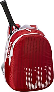Wilson(ウイルソン) テニス バッグ バドミントン ラケットバッグ JUNIOR BACKPACK(ジュニアバックパック) ジュニアラケット2本収納可能 ウィルソン