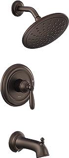 Moen UT2253EPORB Brantford M-CORE 3-Series 1-Handle Tub and Shower Trim Kit, Valve Required, Oil Rubbed Bronze