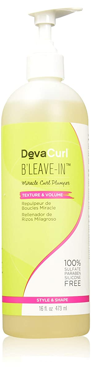 コミットブーム転送デヴァ DevaCurl B'Leave-In Miracle Curl Plumper (Texture & Volume) 473ml/16oz並行輸入品