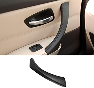 Jaronx Compatible with BMW E90 Black Door Handles Outer Cover Left