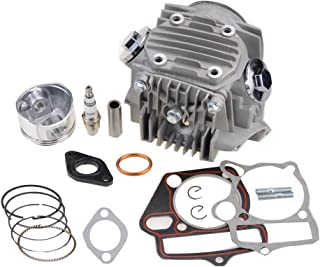 GOOFIT Completa testa del cilindro per 4 tempi motore 110cc per ATV Go Kart
