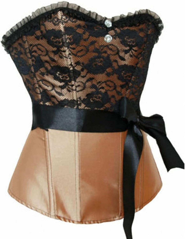 Vintage Corsets for Women's Trim Elegant Tummy Control Bustier T